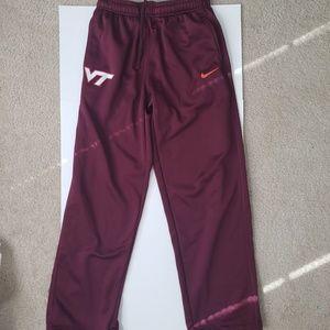 Men's Nike Virginia Tech Hokies Therma-Fit Pants